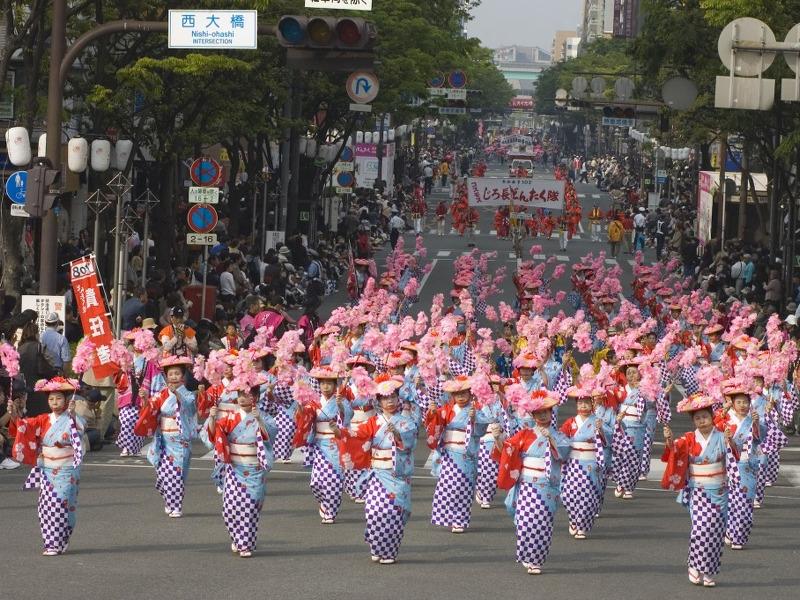 Grands festivals au Japon